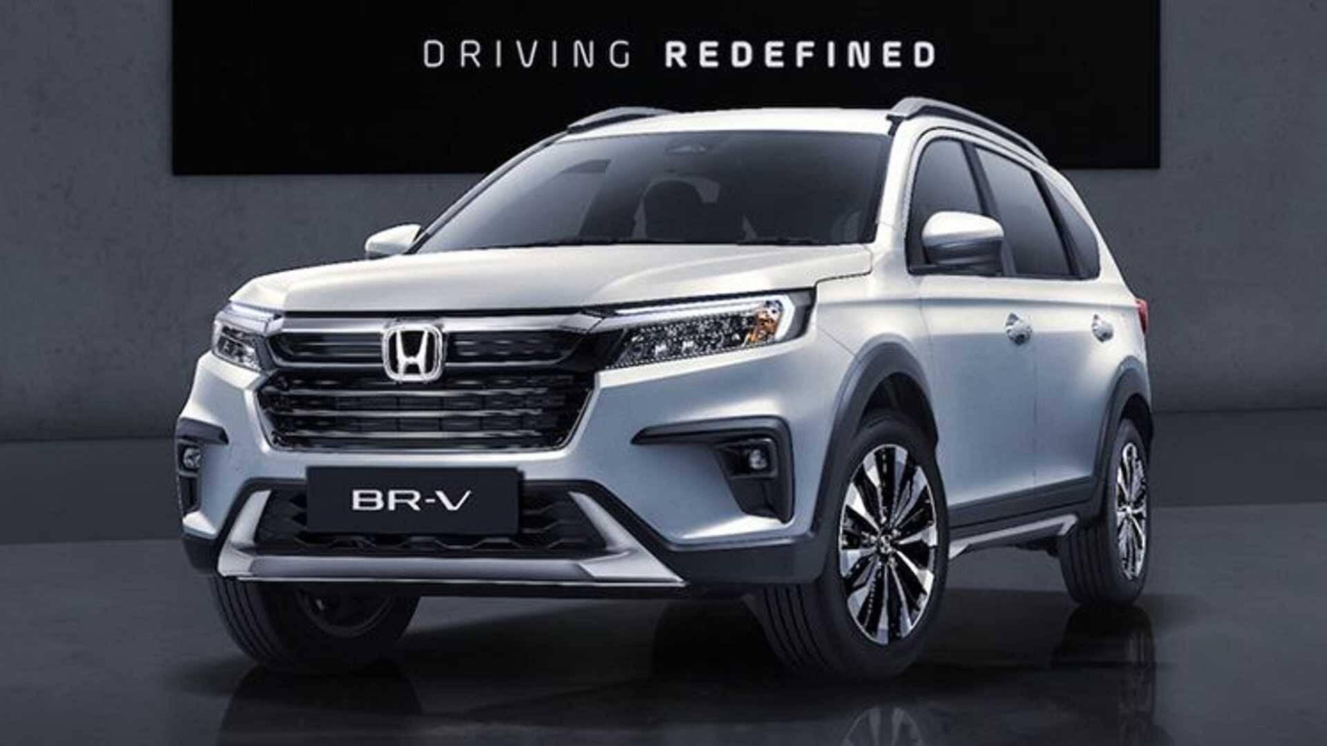 Honda BR-V 2022. Foto: Divulgação