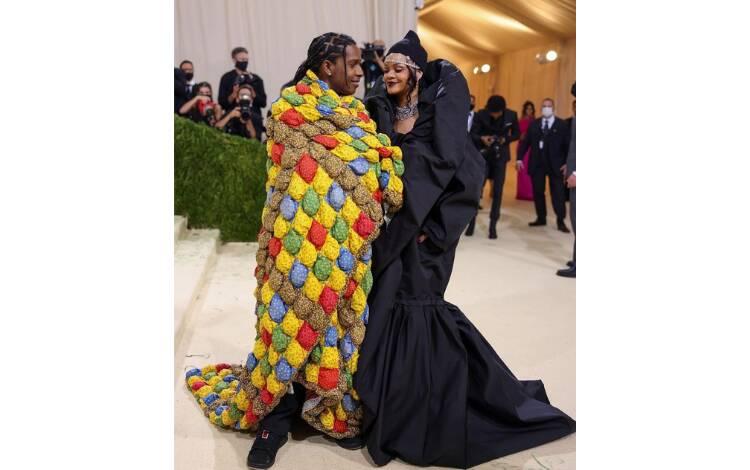 Rihanna e Asap Rocky. Foto: Reprodução/Instagram