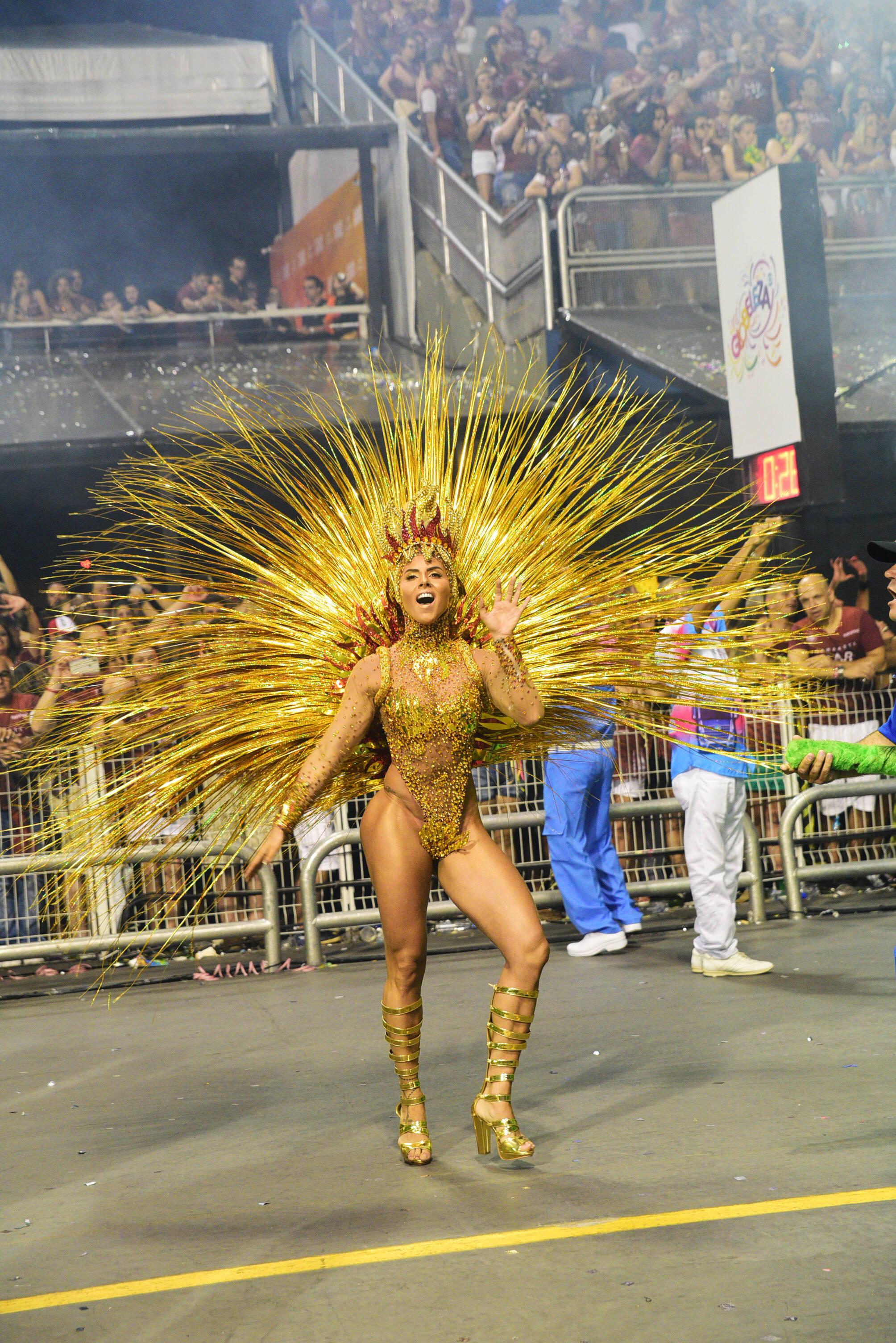 Destaque da Rosas de Ouro na última sexta (09). Foto: Divulgação/Liga Carnaval SP