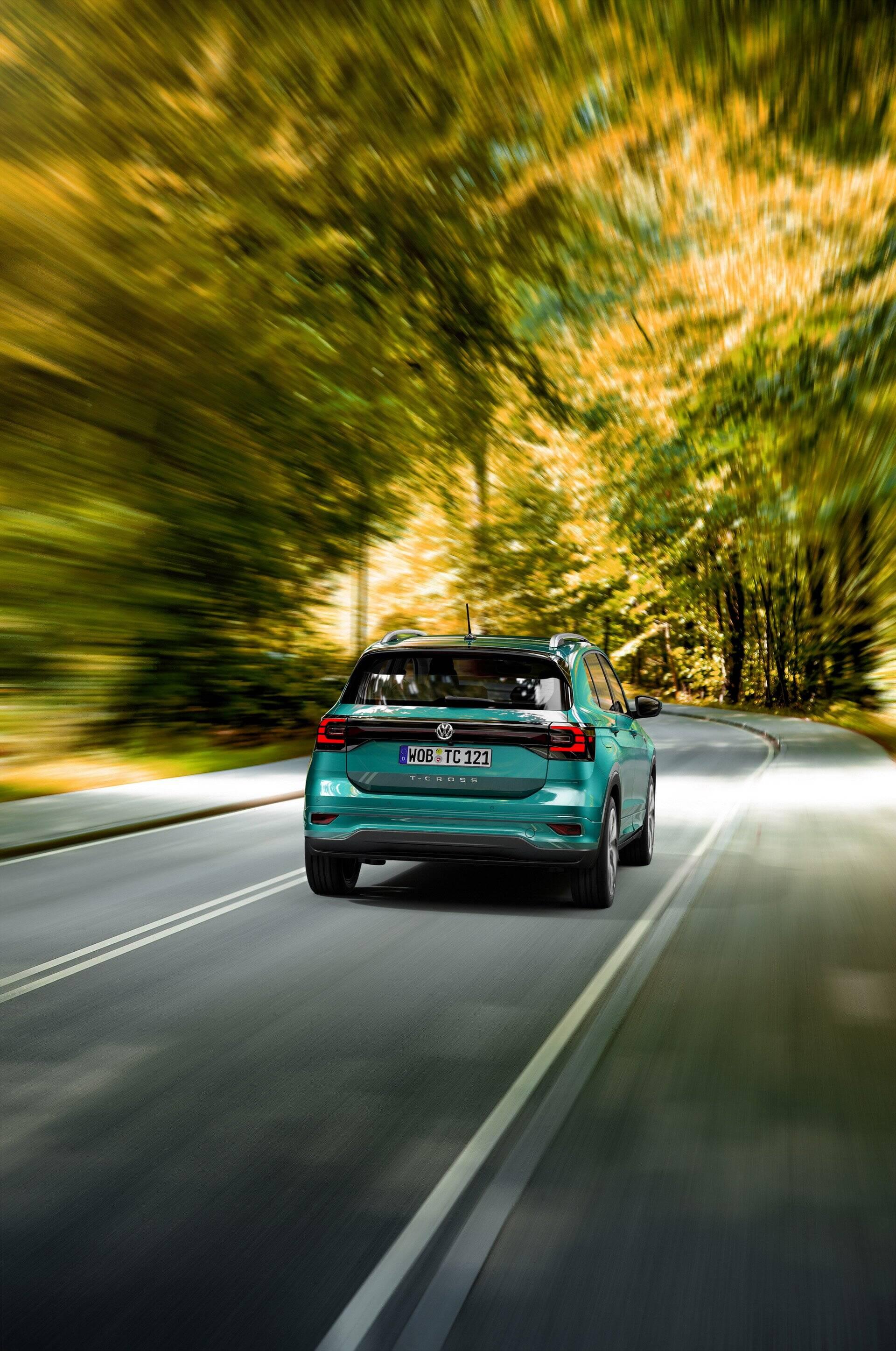 VW T-Cross 2019. Foto: Divulgação
