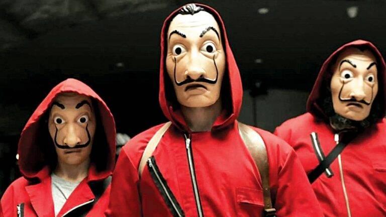 2 de 4 La casa de papel — 3 (Netflix) O Professor ensina a nova quadrilha a fazer assaltos mais arriscados 6 episódios. Foto: Divulgação