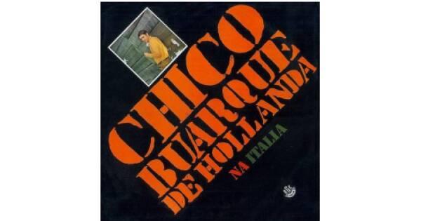 """Capa de """"Chico Buarque na Itália"""", lançado em 1969.. Foto: Reprodução/ Divulgação"""