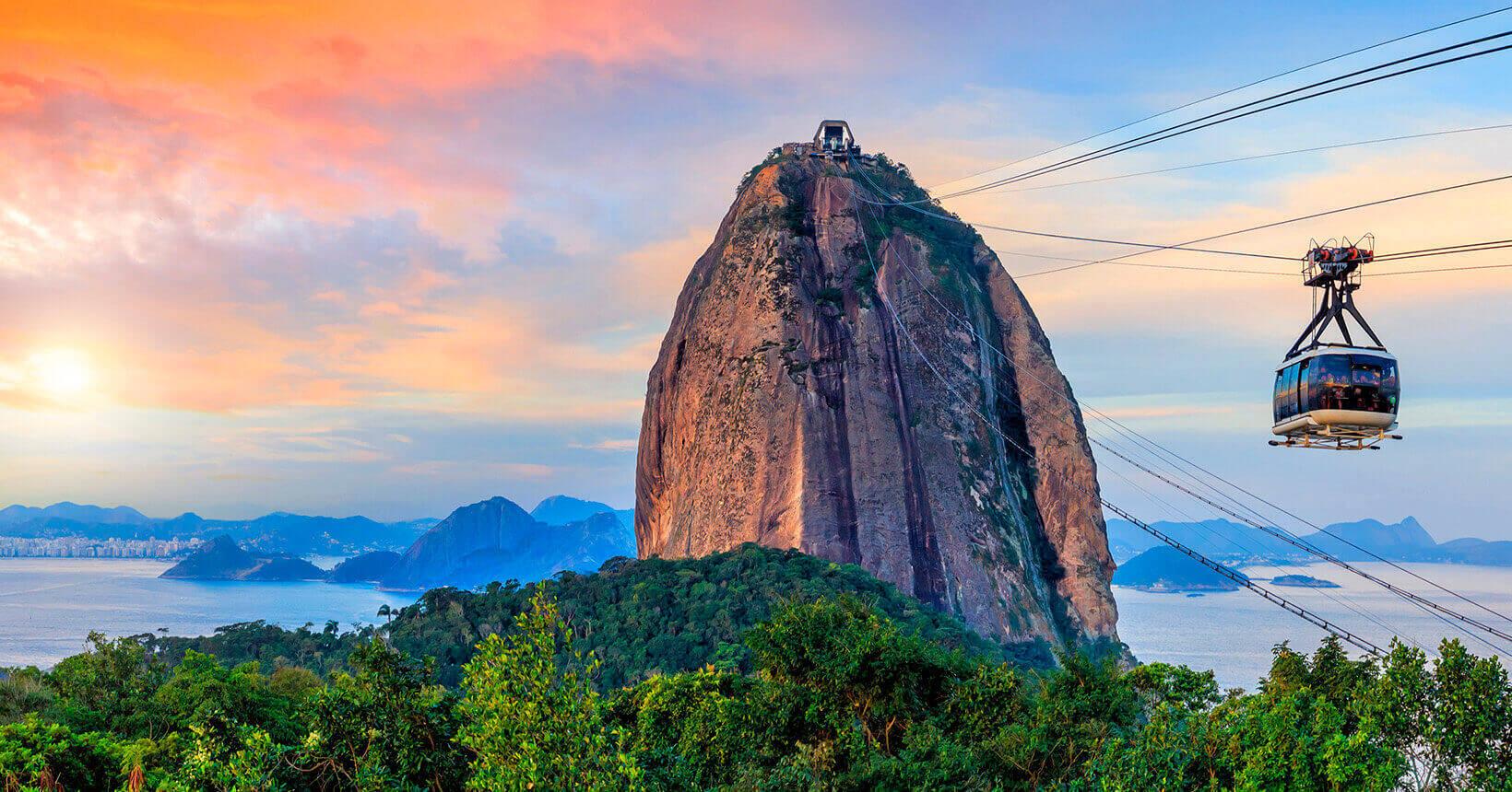Pão de Açúcar é um dos principais cartões postais do Rio de Janeiro. Foto: Reprodução