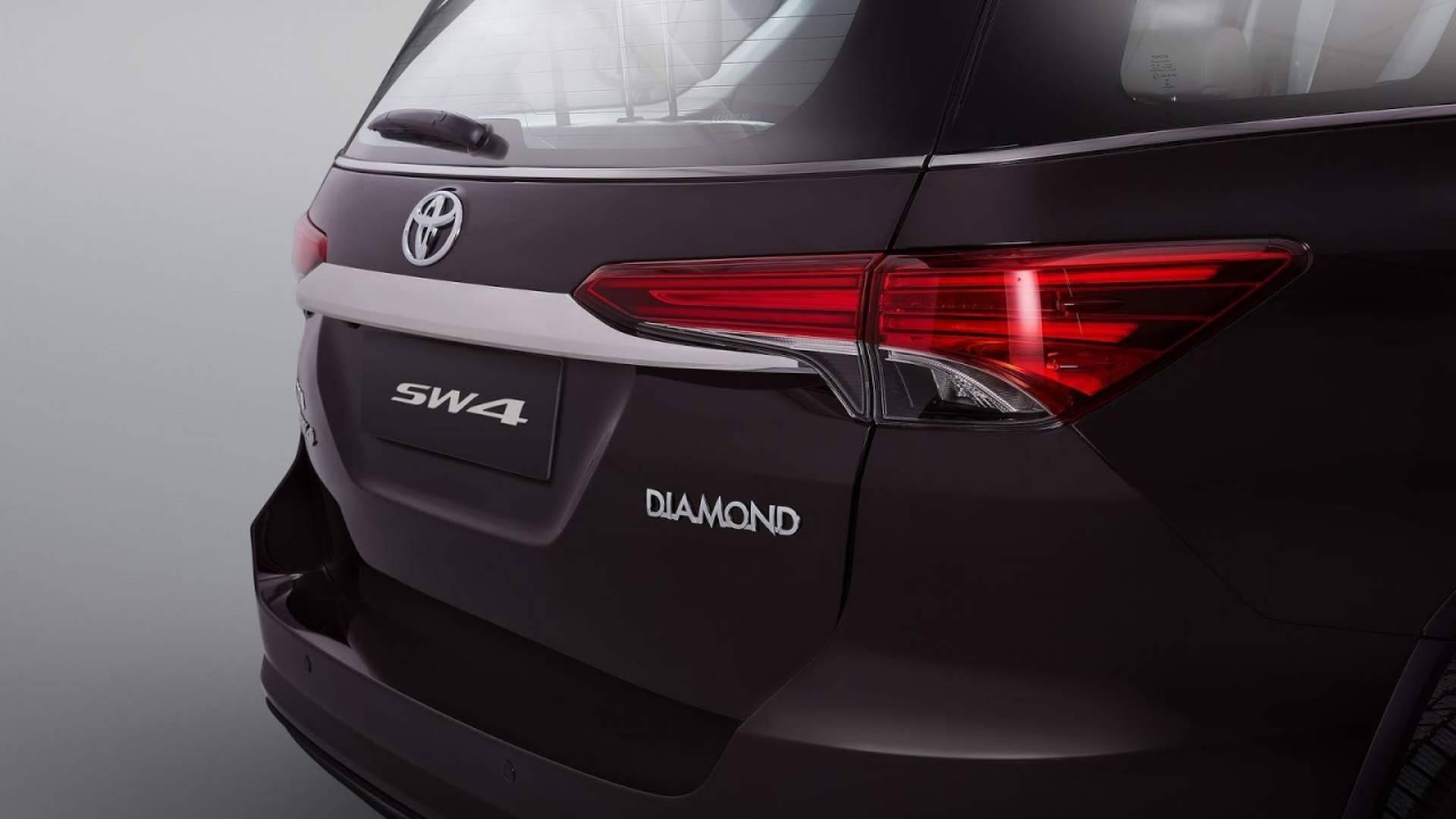 Toyota Hilux Diamond. Foto: Divulgação