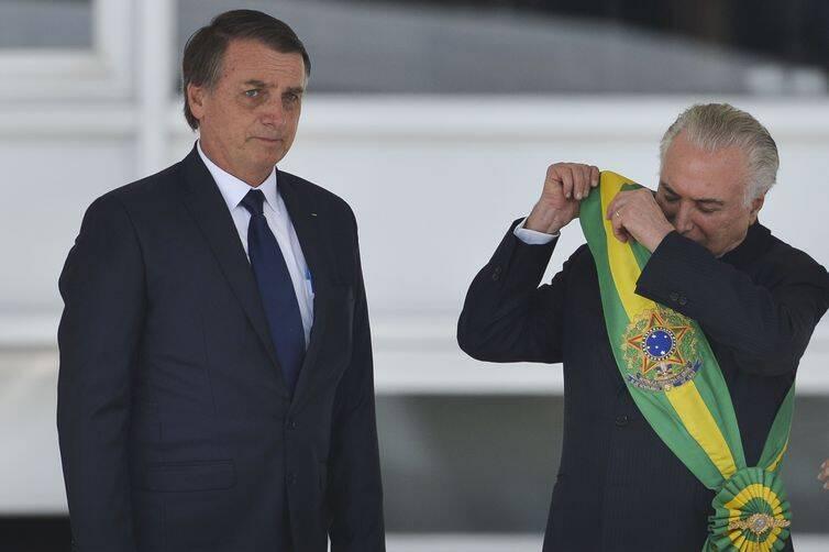 Michel Temer deixa Brasília após 24 anos trabalhando na capital. Foto: MARCELO CAMARGO/AGÊNCIA BRASIL