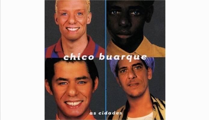 """Capa de """"As Cidades"""" , lançado no ano de 1998.. Foto: Reprodução/ Divulgação"""