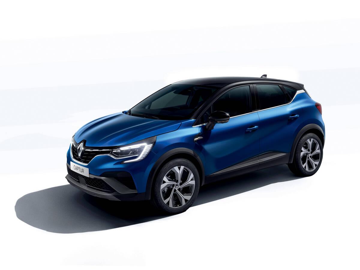 Renault Captur R.S. Line. Foto: Divulgação