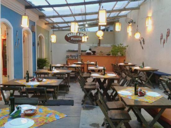 Pizzaria Sabor & ART é elogiada pelo custo benefício e por pizzas saborosas. Foto: TripAdvisor