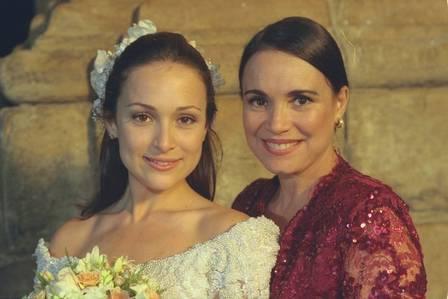 Gabriela Duarte foi ter sua primeira filha em 2006 e o segundo bebê em 2011. Foto: Divulgação / Rede Globo