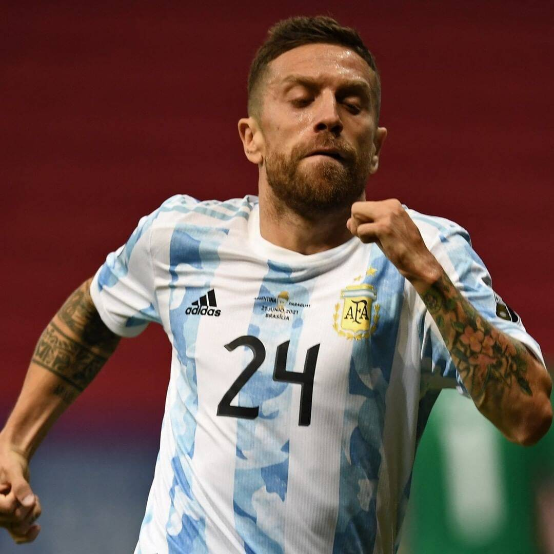 Argentina x Paraguai. Foto: Reprodução / Instagram Copa América