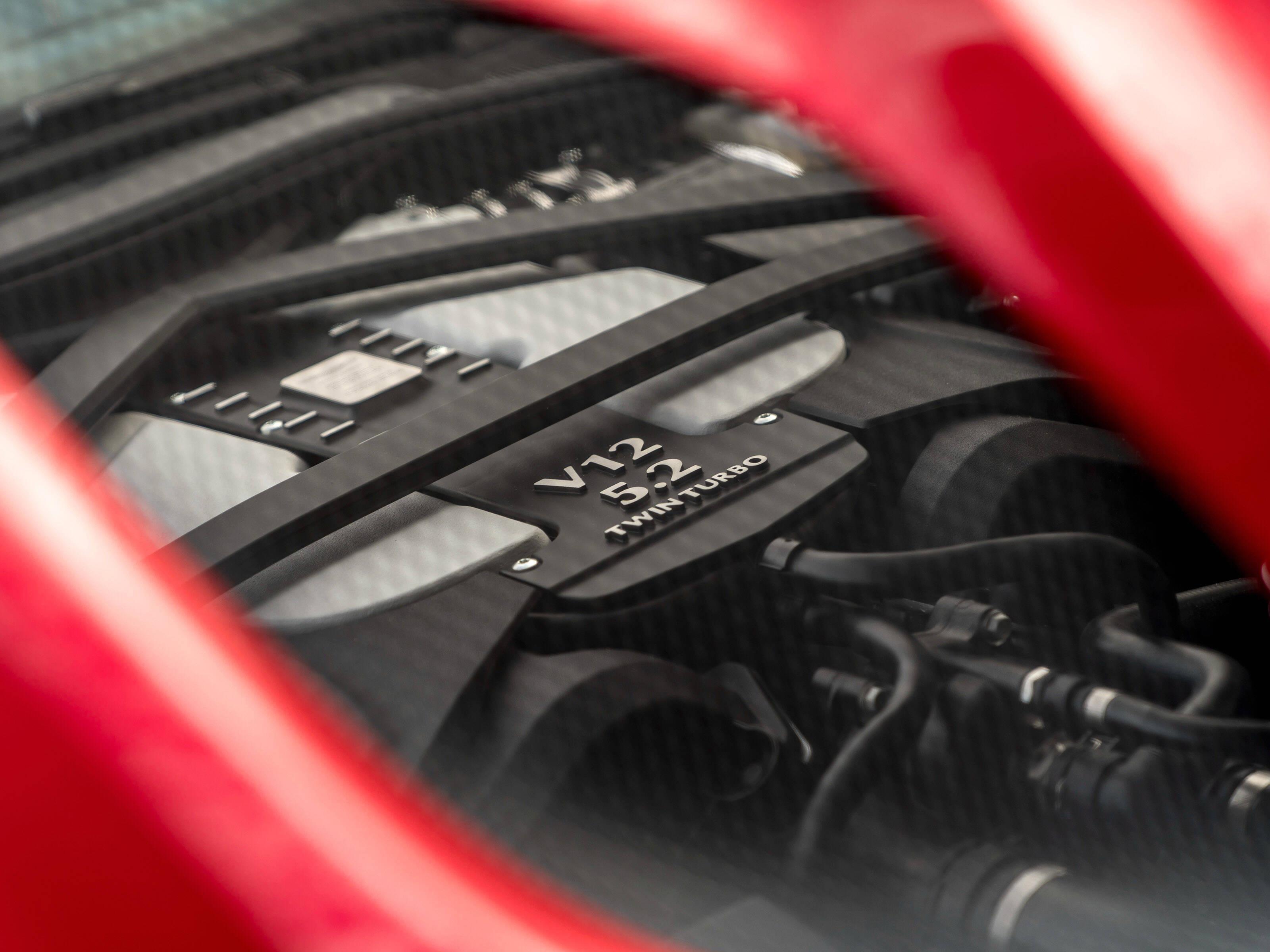 Aston Martin DBS Superleggera. Foto: Divulgação