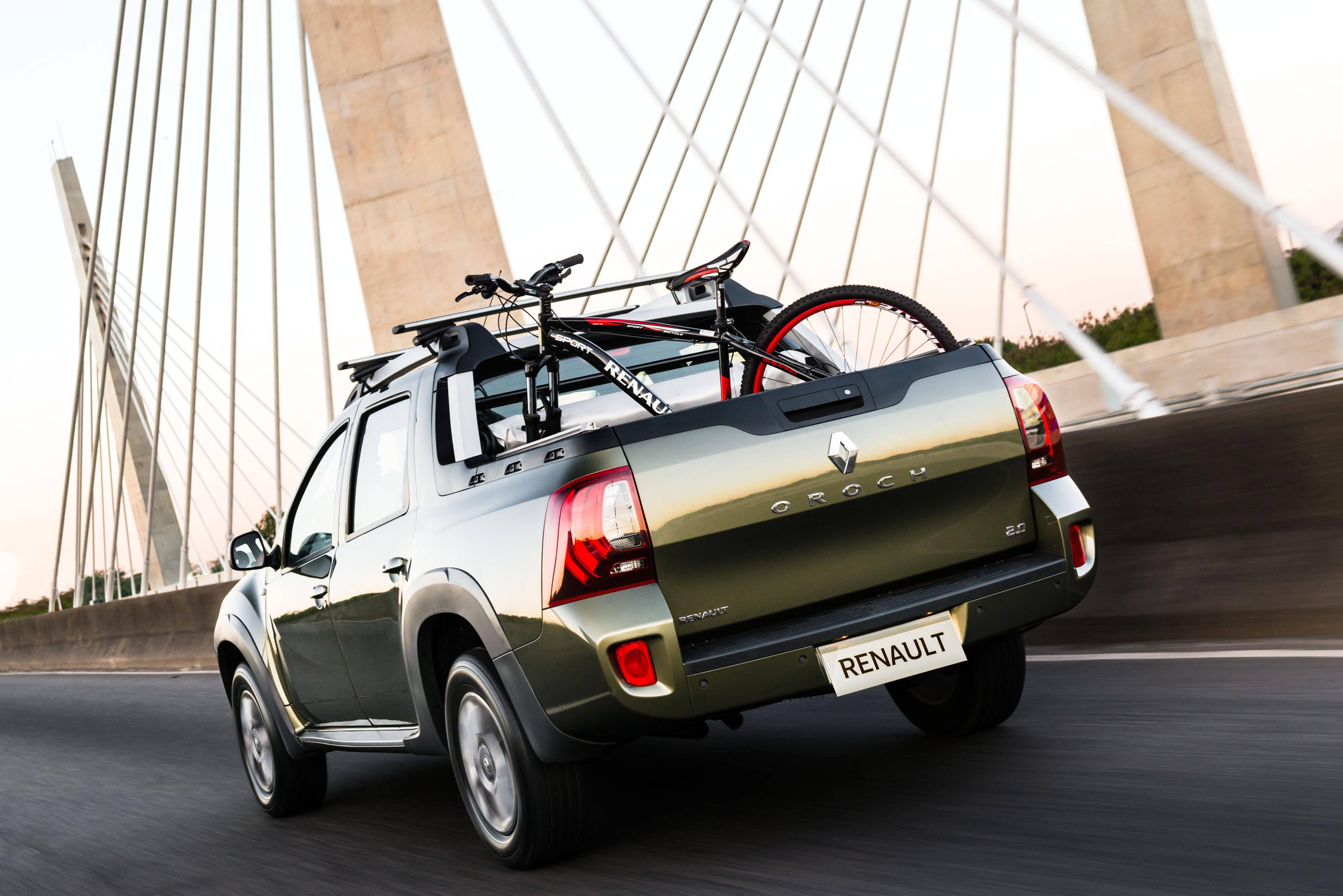 Renault Duster Oroch. Foto: Divulgação