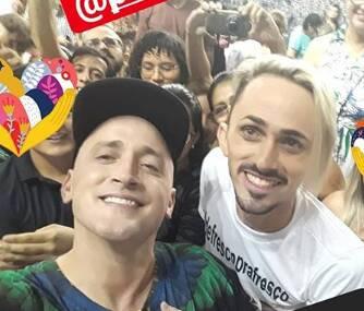 Paulo Gustavo e Biga Kalahare. Foto: Reprodução/ Instagram