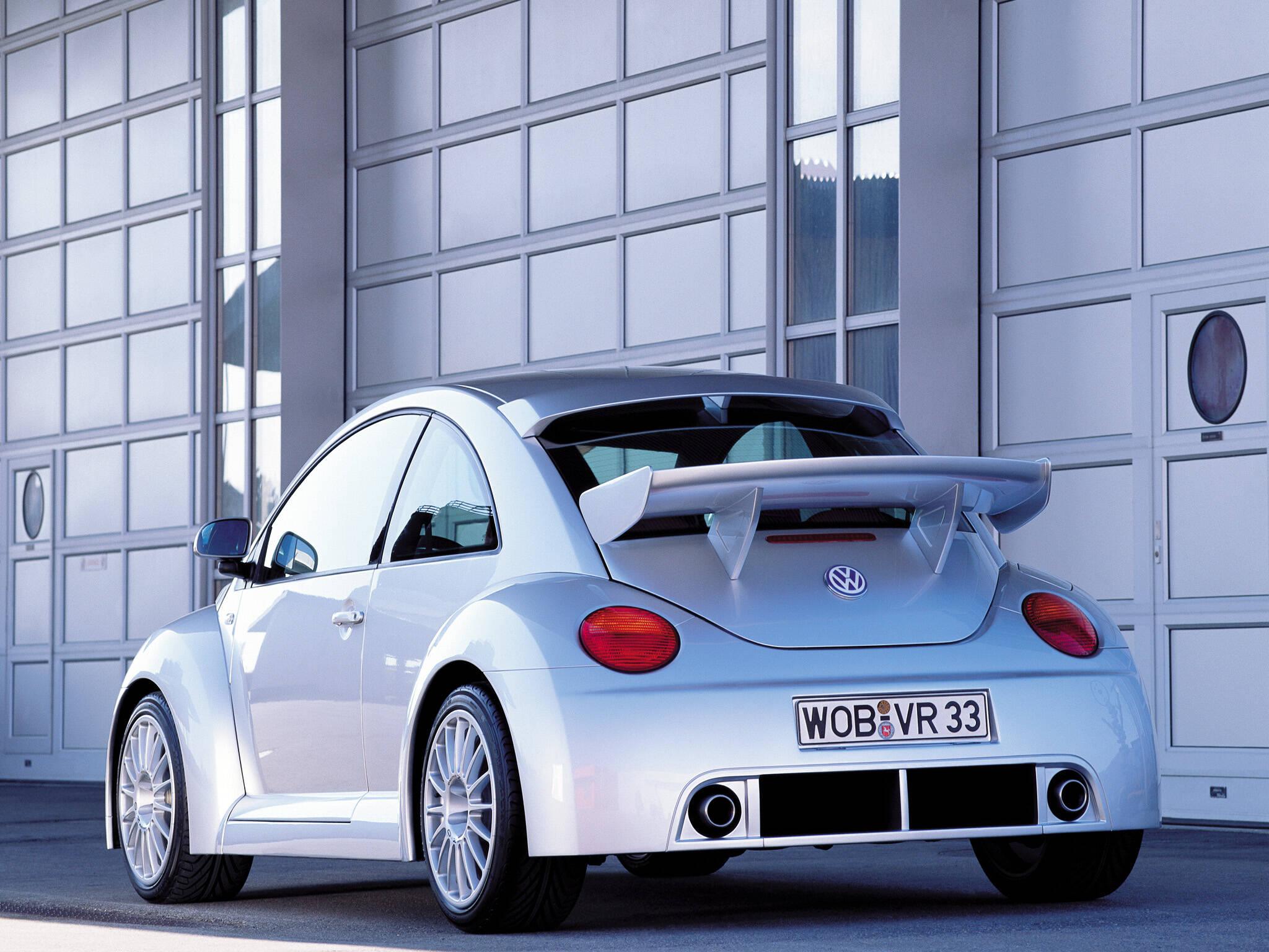 """A carroceria """"wide body"""" da versão RSI levou à loucura entusiastas de modificações e de VW Fusca, no início dos anos 2000. Foto: Divulgação"""