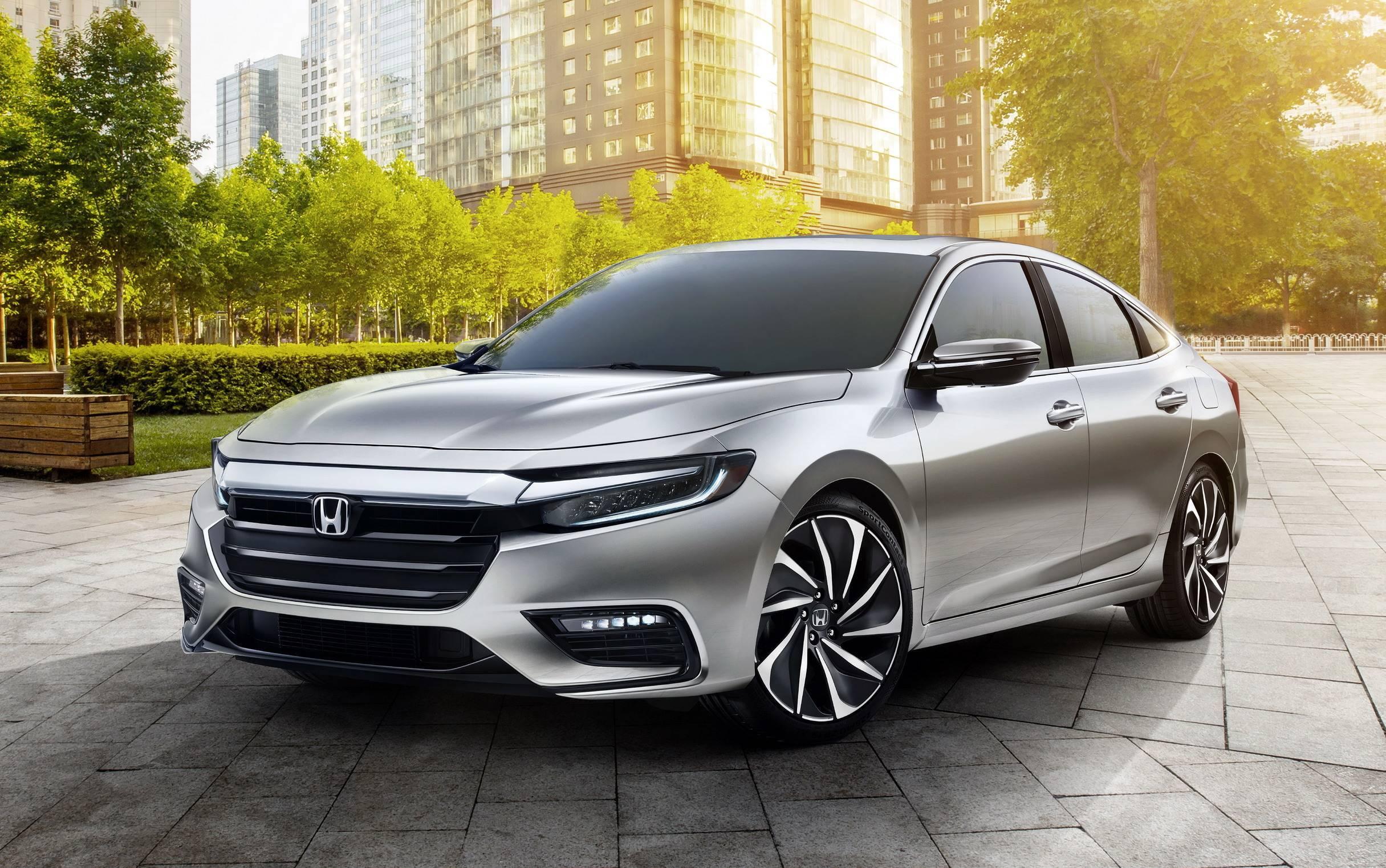 Honda Insight. Foto: Divulgação