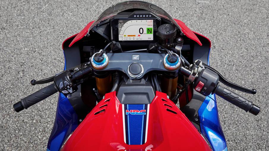 Honda CBR 1000RR-R Fireblade SP. Foto: Divulgação