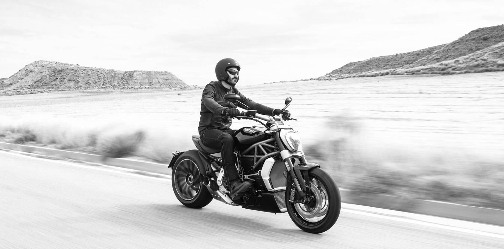 Ducati XDiavel. Foto: Divulgação