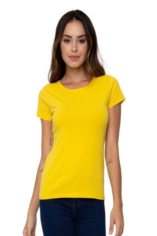 Camiseta amarela R$ 15,99. Foto: Caedu