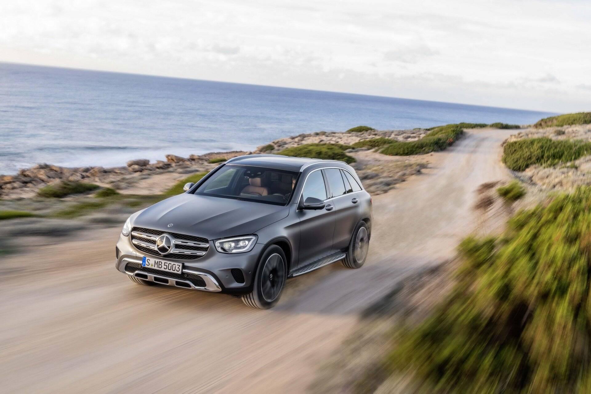 Mercedes-Benz GLC. Foto: Divulgação