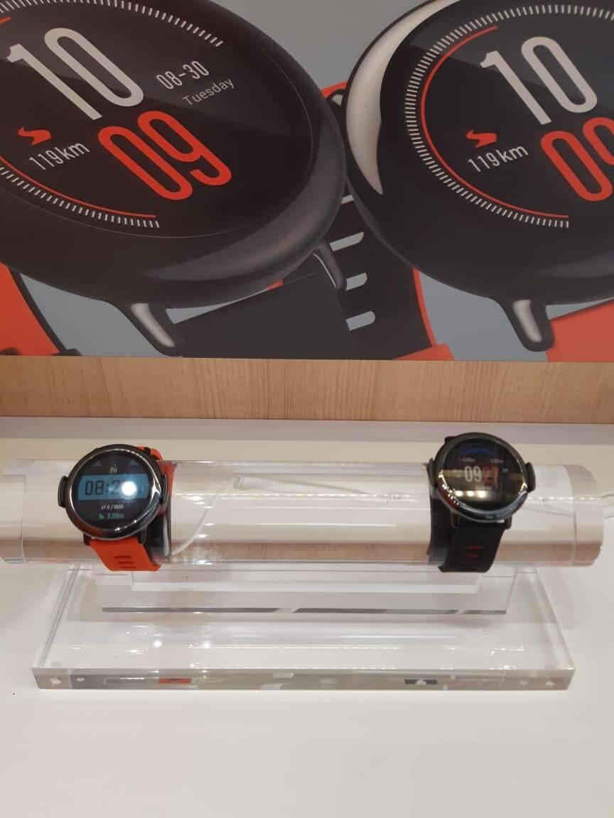 smartwatches Xiaomi. Foto: Marina Teodoro/iG Tecnologia