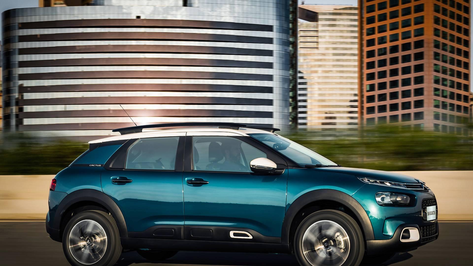 Citroën C4 Cactus. Foto: Divulgação