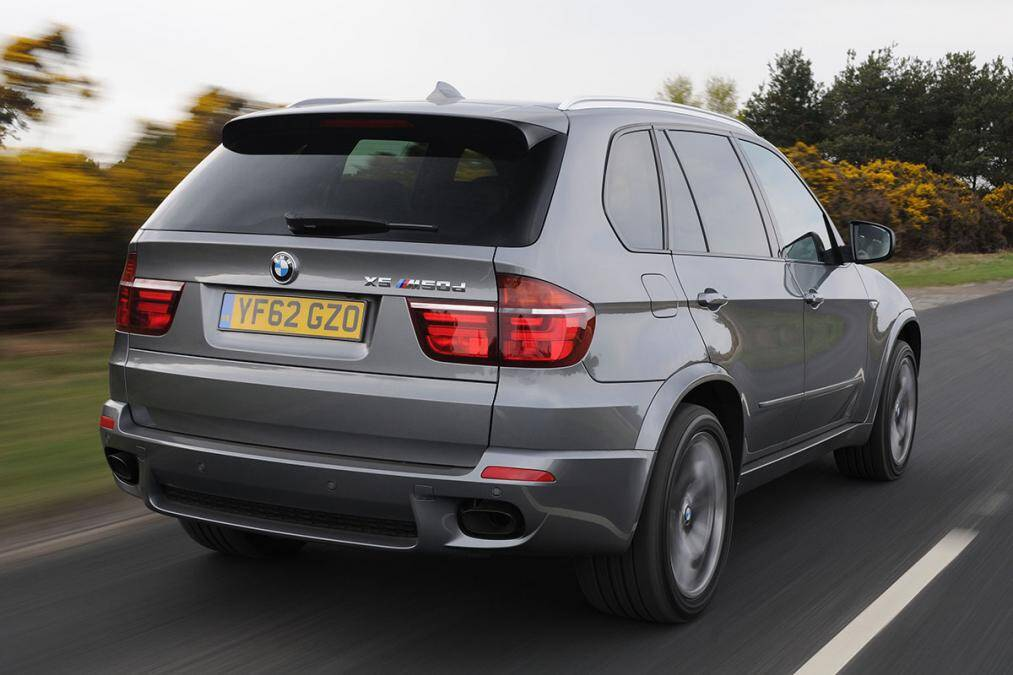 BMW X5 M50d. Foto: Divulgação