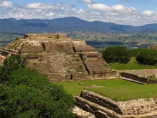 Ruínas Monte Alban, no México. Foto: Reprodução