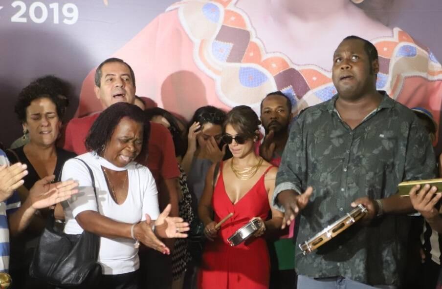 Velório de Beth Carvalho. Foto: Daniel Pinheiro/AgNews