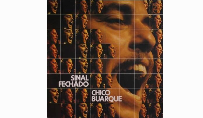 """Capa de """"Sinal Fechado"""", lançado em 1974.. Foto: Reprodução/ Divulgação"""