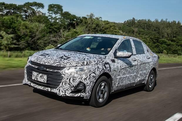 Chevrolet Onix Sedan. Foto: Divulgação