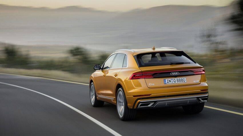 Audi Q8. Foto: Divulgação
