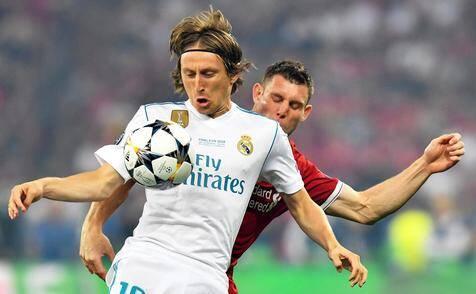 Eleito melhor do mundo em 2018, Modric ainda não renovou com o Real Madrid. Foto: Reprodução / Ansa
