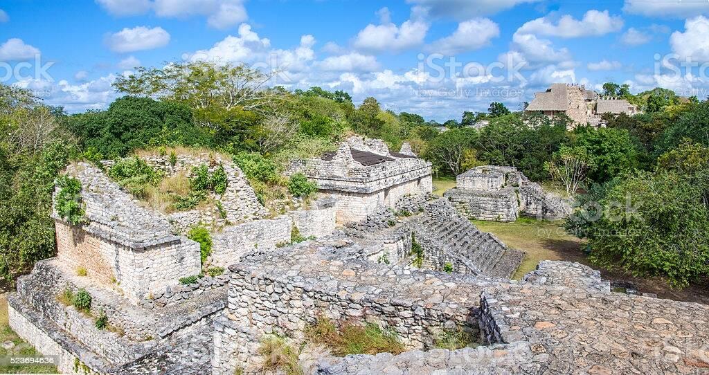 Ruínas Ek Balam, no México. Foto: iStock