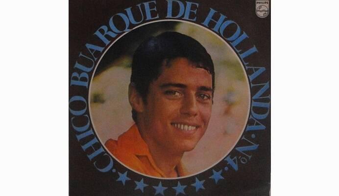 """Capa de """"Chico Buarque de Hollanda - Nº4"""", álbum lançado em 1970.. Foto: Reprodução/ Divulgação"""