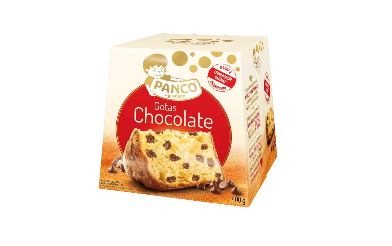 Chocotone com gotas de chocolate Panco (R$ 15,90). Foto: Divulgação