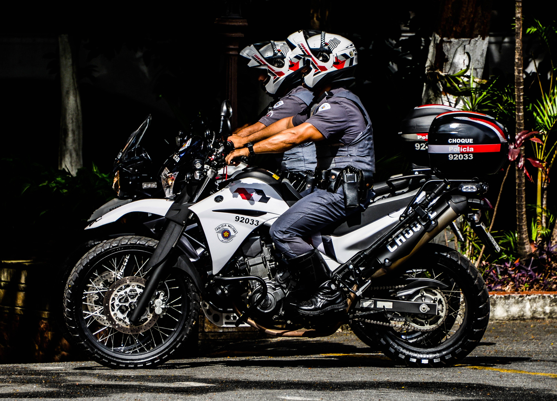 A Ronda Ostensiva com Apoio de Motocicletas foi criada em 1982 . Foto: Major PM Luis Augusto Pacheco Ambar