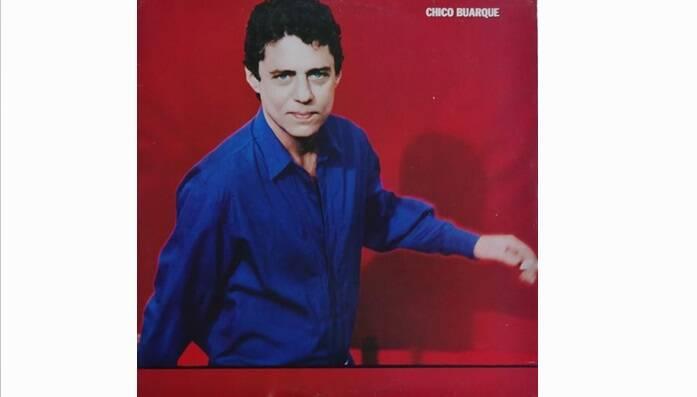 """Mais um álbum autointitulado de """"Chico Buarque"""", lançado em 1984.. Foto: Reprodução/ Divulgação"""