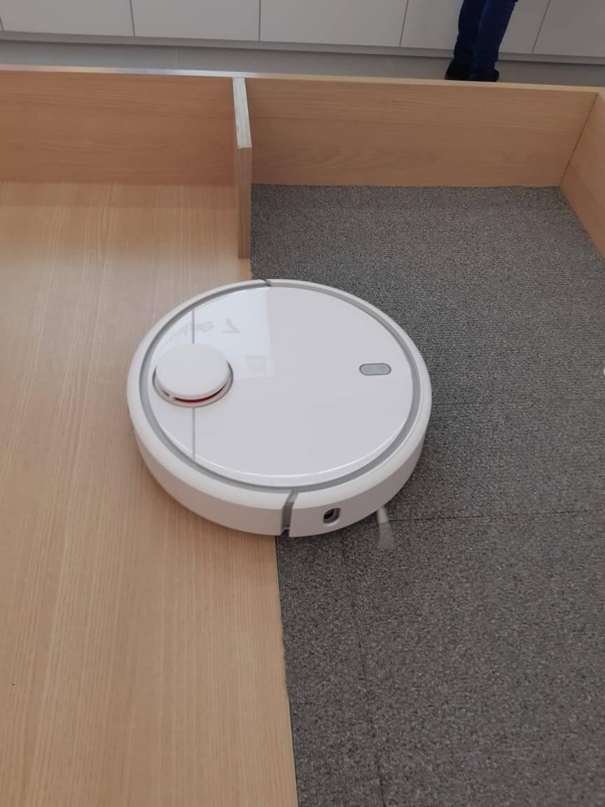 Robô aspirador de pó Xiaomi. Foto: Marina Teodoro/iG Tecnologia