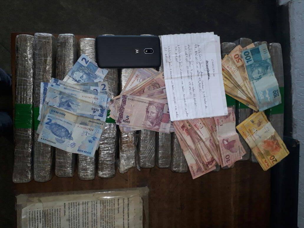 """Parte das apreensões efetuadas por Policiais de ROTA na operação """"Tolerância Zero"""" . Foto: ROTA / Divulgação"""