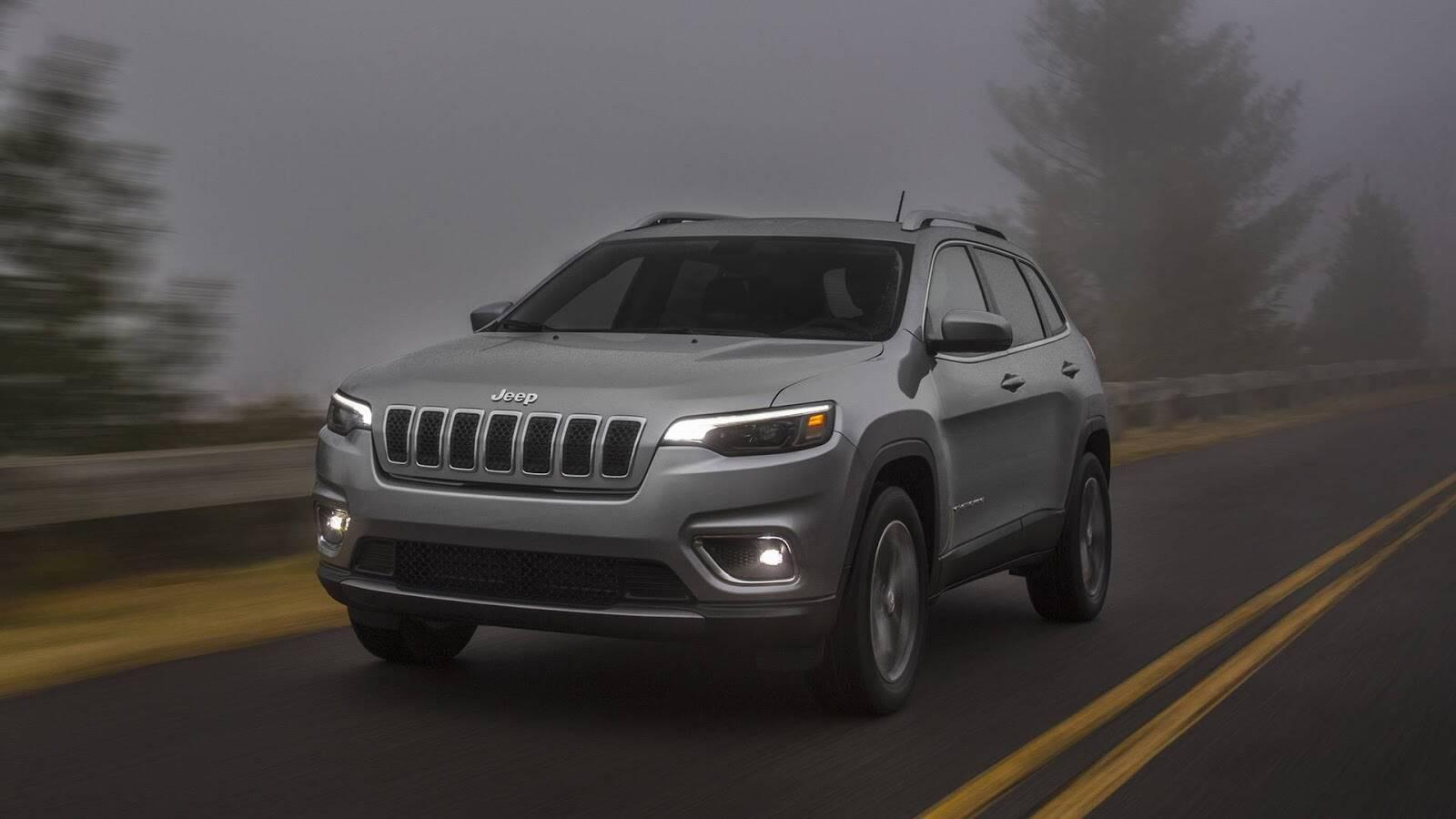 Jeep Cherokee 2019. Foto: Divulgação