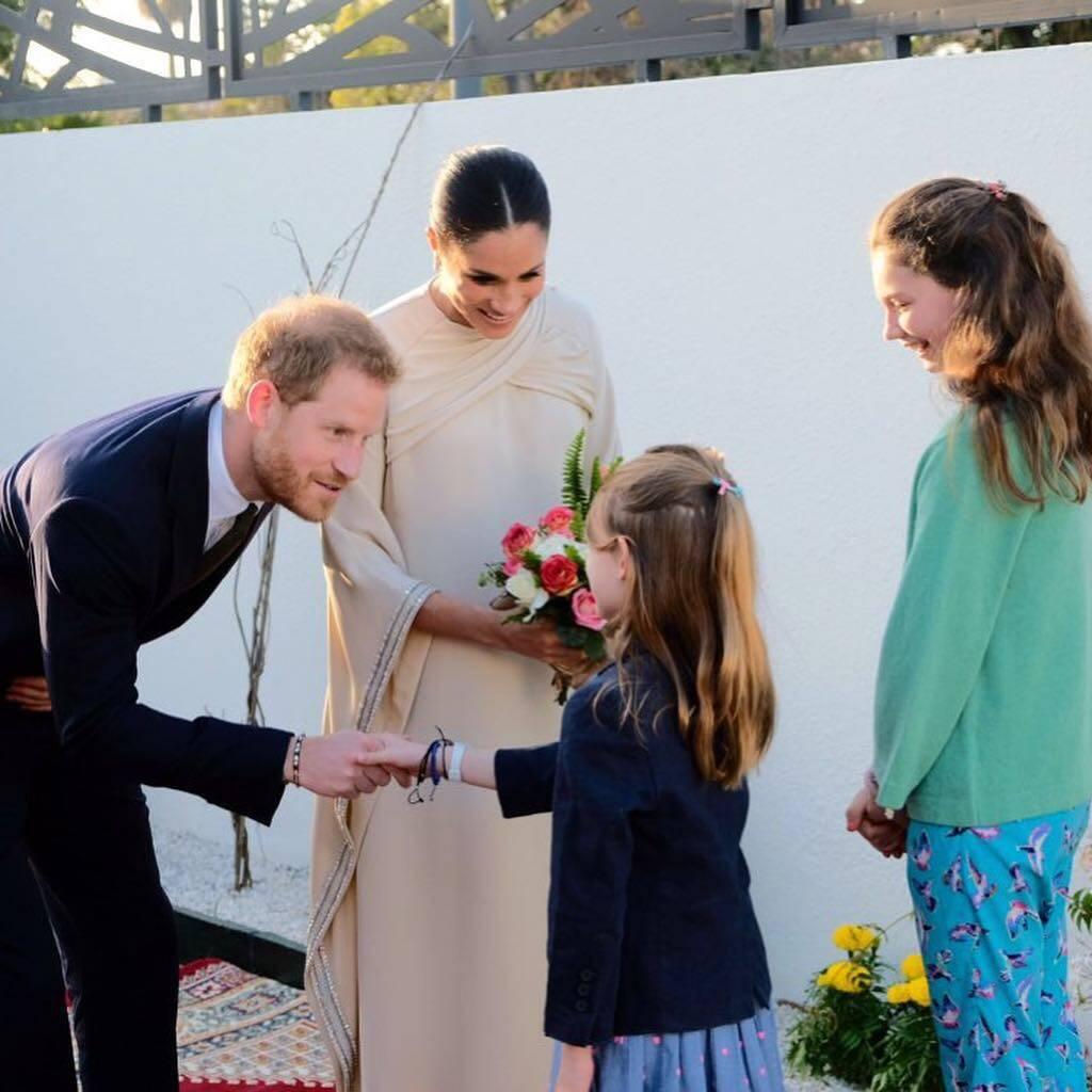 Meghan Markle e Príncipe Harry visitam o Marrocos, no Norte da África. Foto: Reprodução / Instagram