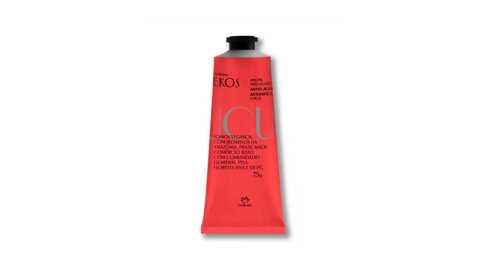 Rica em trimiristina, que estimula a produção de colágeno e elastina. A textura é cremosa, de rápida absorção e toque seco. R$ 26,90. Foto: Divulgação