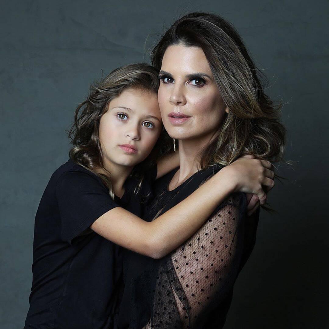 Mariana Kupfer e sua filha, Victória. Foto: Reprodução / Instagram