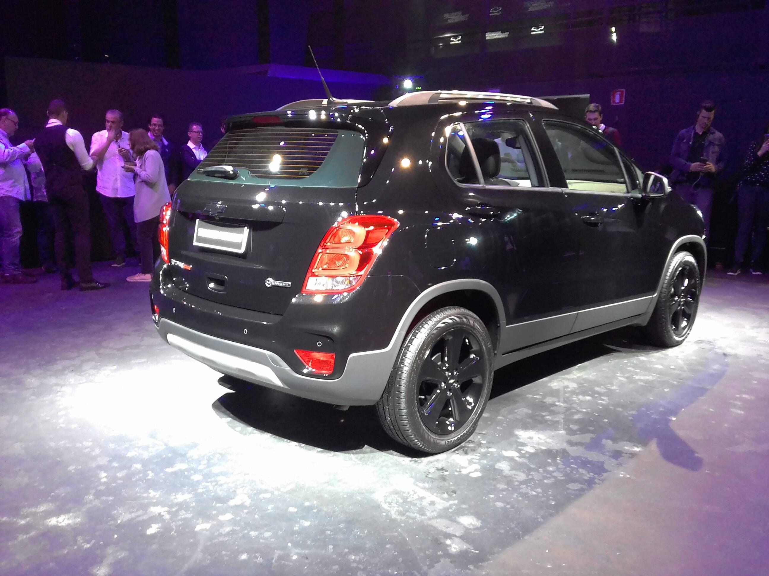 Chevrolet Tracker Midnight. Foto: Divulgação