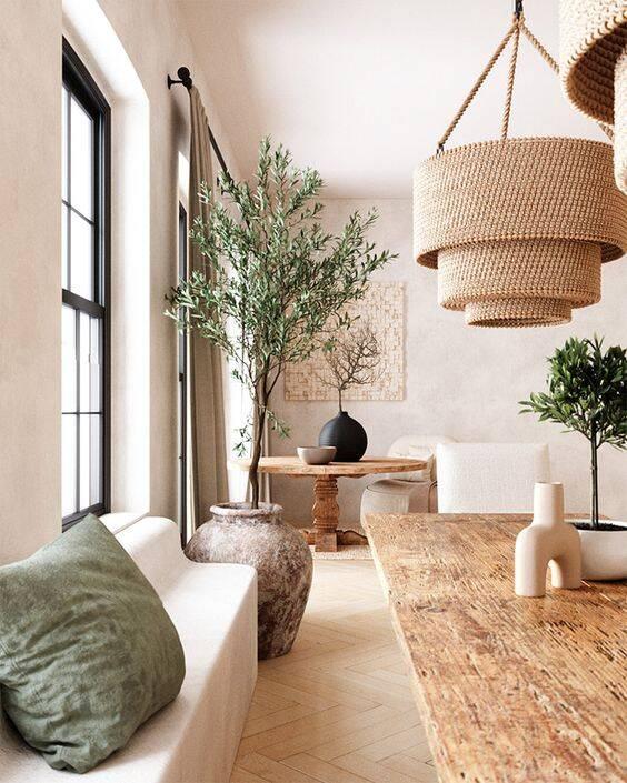 Luz do dia em evidência ajuda a avivar o décor e arremata a decoração. Foto: Pinterest/Posh Pennies