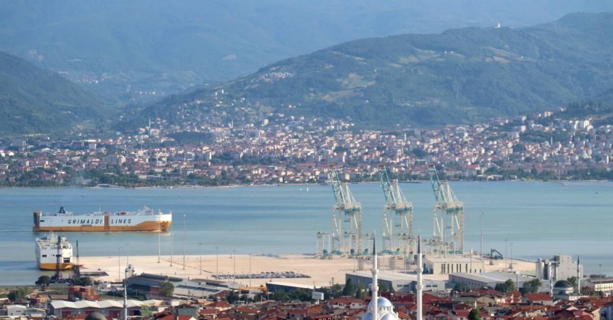 Cidade de Ízmit, na Turquia. Foto: Reprodução/Daily Sabah