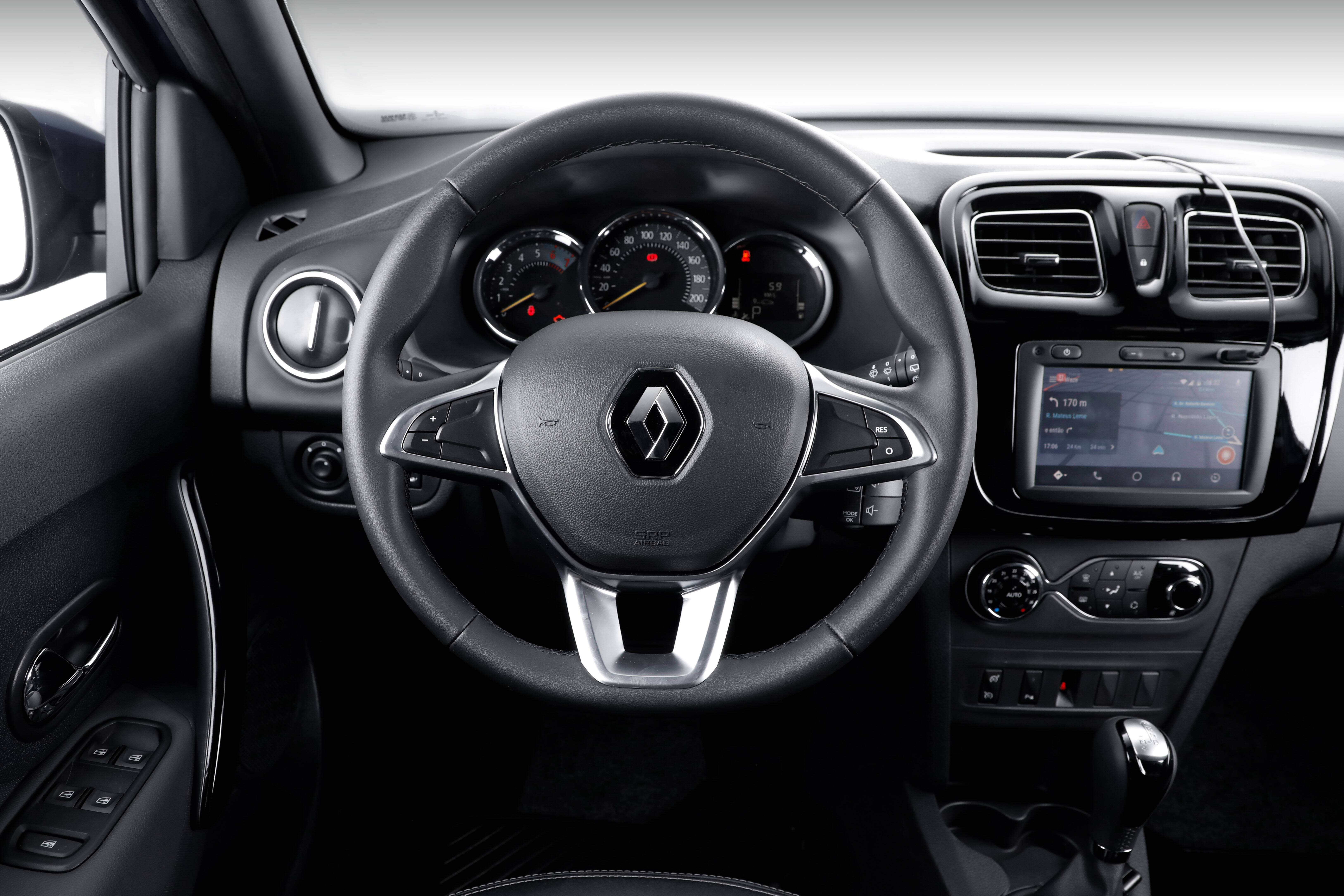 Renault Sandero. Foto: Divulgação