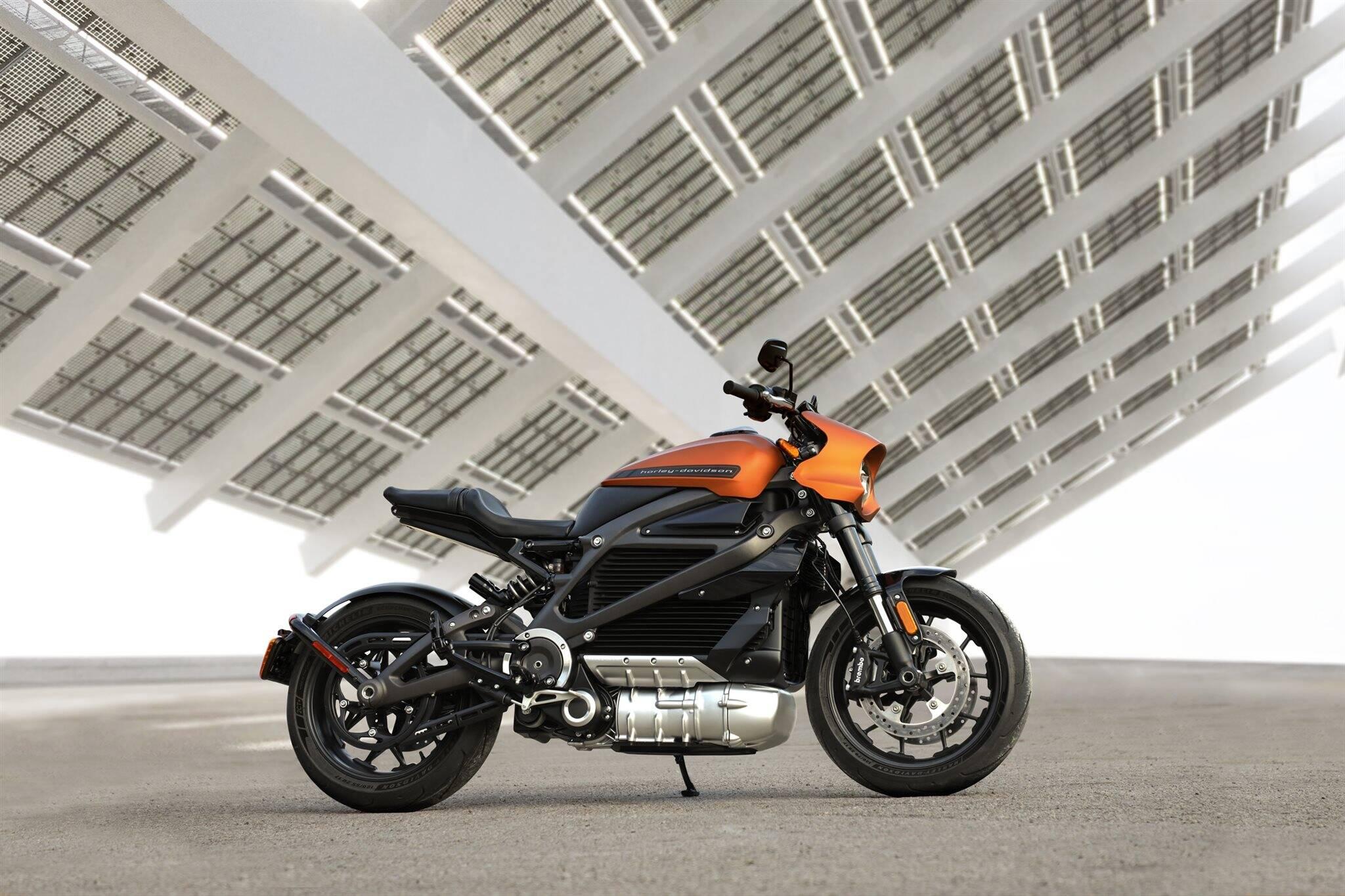 Harley-Davidson LiveWire. Foto: Divulgação