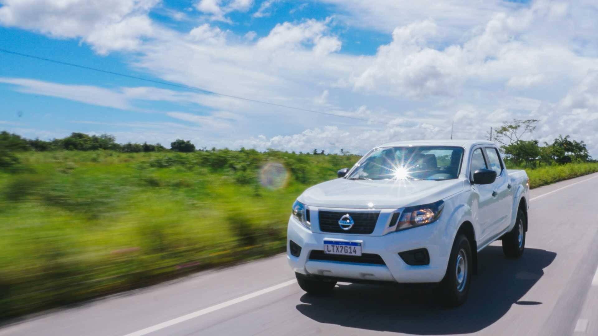 Nissan Frontier S. Foto: Divulgação