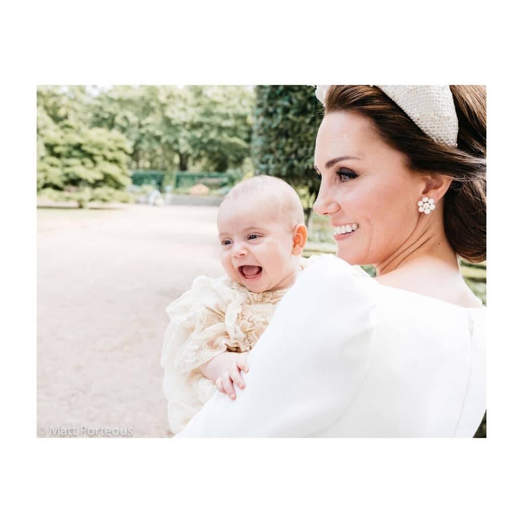 O ano foi cheio para a família real: além do casamento de Meghan e Harry e o anúncio do primeiro filho, a família deus as boas-vindas ao Príncipe Louis. Foto: Divulgação